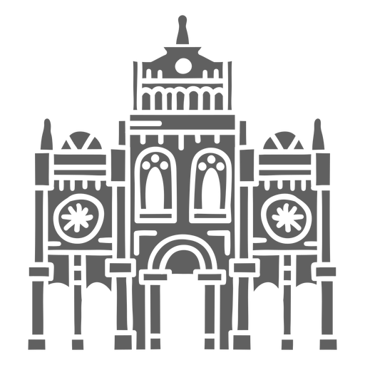 Costa rica cartago cathedral cut out