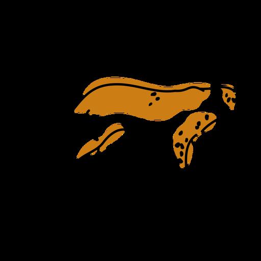 Leopard wild animal duotone