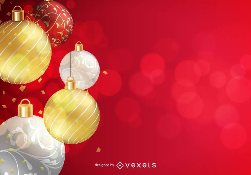 Christmas Background Vector.Free Vector Christmas Background Vector Download