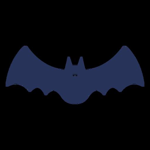 Filled stroke simple flying bat