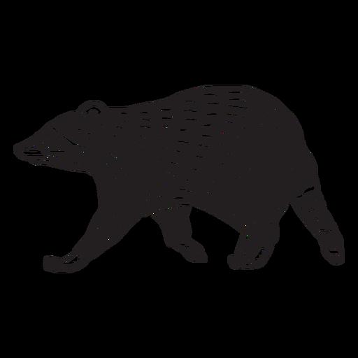 animales en linograbado - 6