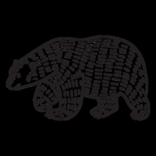 animales en linograbado - 12