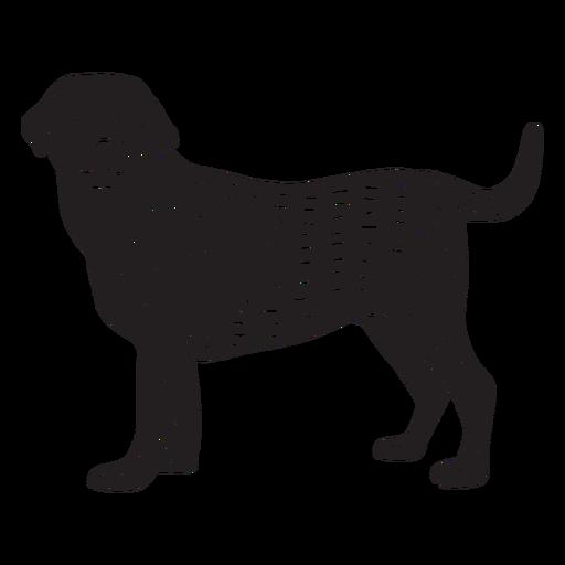 Retriever dog hand drawn