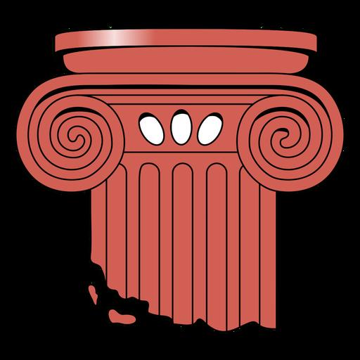 Top of ionic column