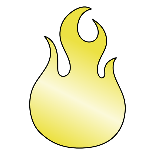 Simple old school flame element