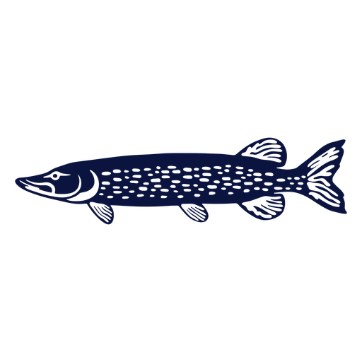 Simple sideways cut out fish