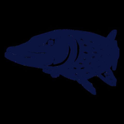 Simple cutout fish