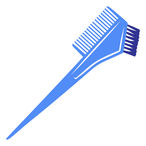 Simple flat double hair comb