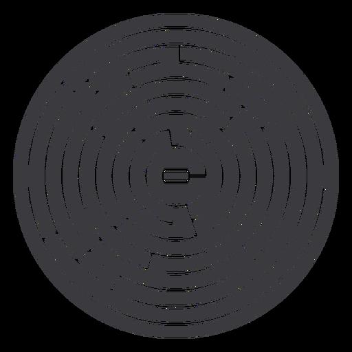 labirinto cortado - 4