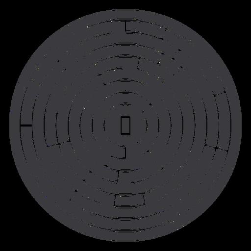 labirinto cortado - 7