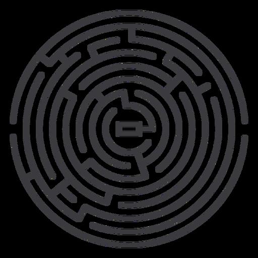 traçado de labirinto - 4