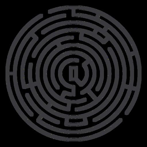 traçado de labirinto - 7