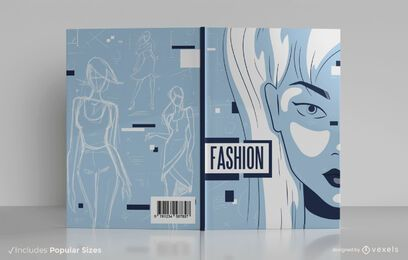 Fashion designer book cover design
