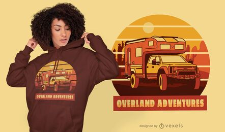 Adventure travel quote t-shirt design