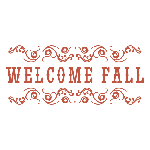 Welcome fall classic badge