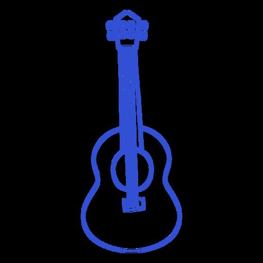 Simple stroke guitar