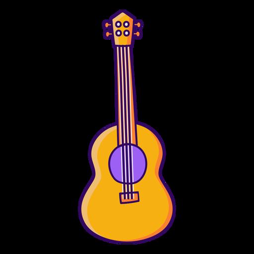 Retro guitar instrument