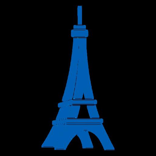 3d Eiffel tower Bastille cut-out