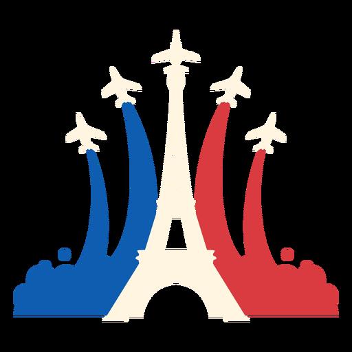 Air-force Eiffel tower flat