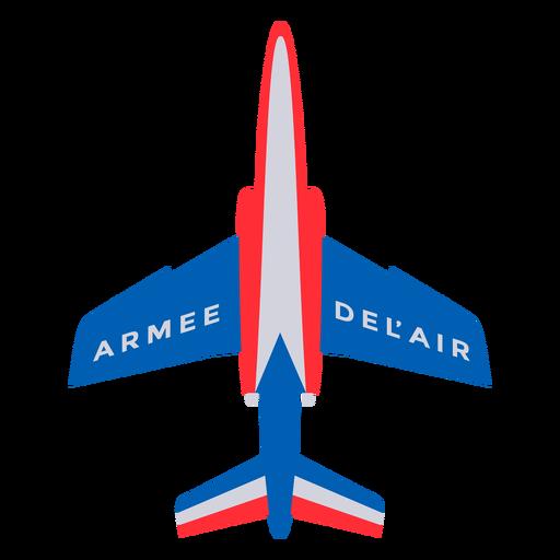 Armee-de-lair plane French flat