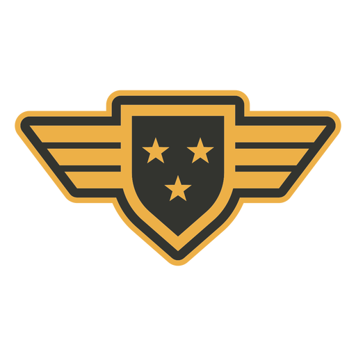 Army multiple stars patch badge