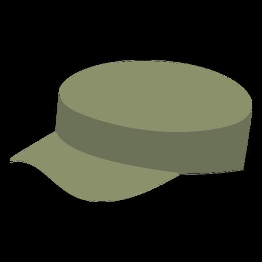 Army patrol cap flat