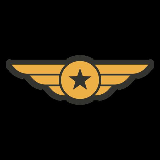 Army single star badge