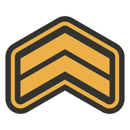 Army triangle patch badge