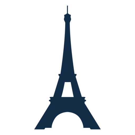 Bastille Day Eiffel Tower silhouette