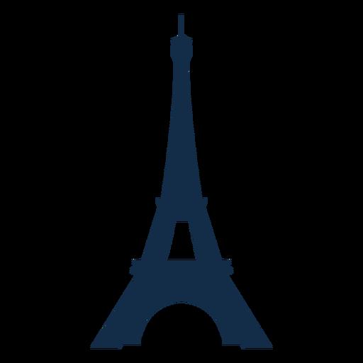 Silueta de la Torre Eiffel del Día de la Bastilla