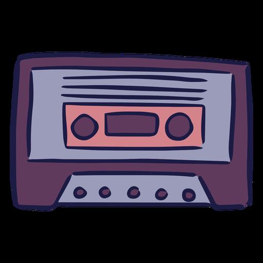 Cassette music doodle