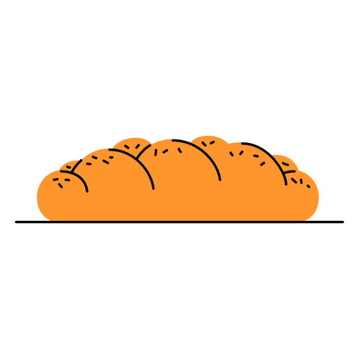 Challah bread doodle