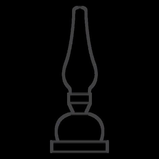 Chamber oil lamp stroke