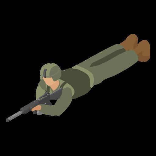 Combet casco soldado plano