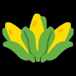 Plano de comida mahindi de maíz