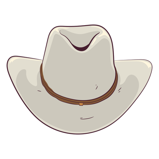 Cowboy hat illustration