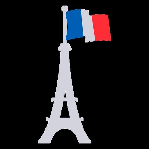 Eiffel tower France flat