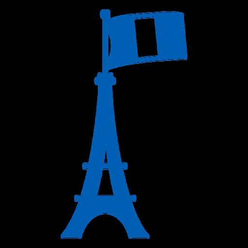 Eiffel tower monochrome France