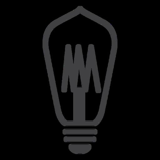 Filament light-bulb stroke