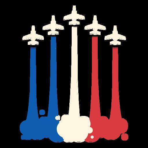 French air-force Bastille celebration flat
