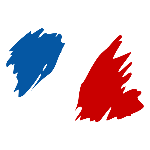 French flag doodle