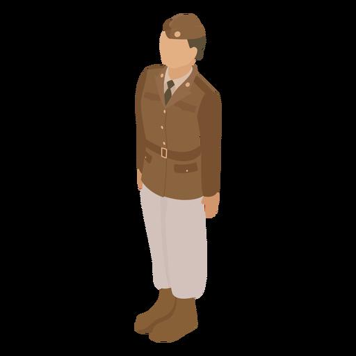 Garrison cap uniform flat