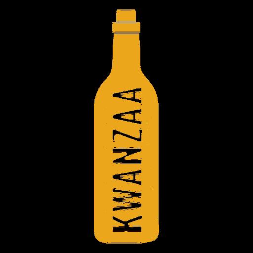 Kwanzaa bottle vertical