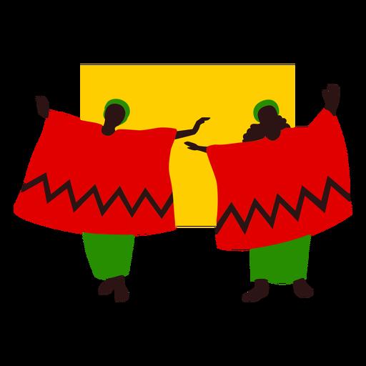 Piso de danza tradicional de Kwanzaa