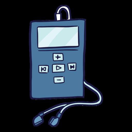 Doodle de reproductor MP4