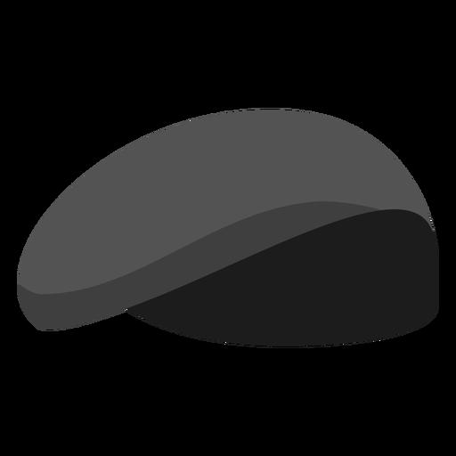 Military beret flat