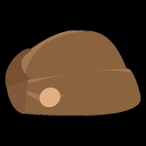 Military side-cap flat