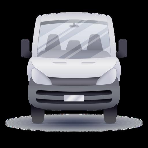 Mini-bus front realistic