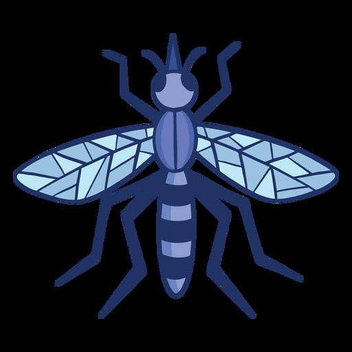 Mosquito color-stroke