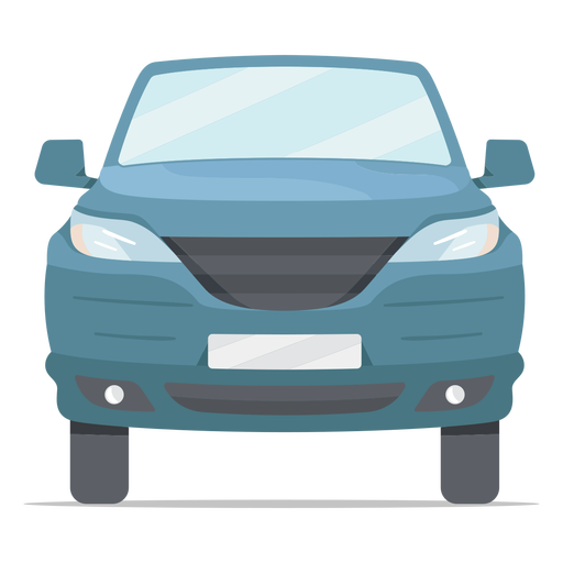 Pick-up vehicle front flat
